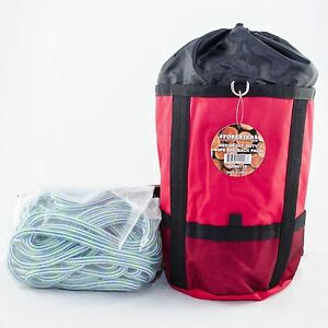 Velocity Cool Tree Climbing Rope Samson 24strand rated 6000lb 7 6 X 120 W bag