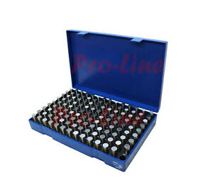 125 Pc M3 501 625 Steel Plug Pin Gage Set Minus Pin Gauges Metal Gage Gauges