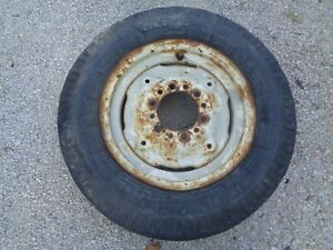 Ford Tractor 600 800 Front Wheel W tire 6 00 X 16