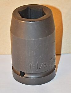 1 1 8 Inch Armstrong Usa 1 Inch Drive 6 Point Deep Impact Socket