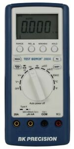 New Bk 390a Test Bench Dmm W Protective Rubberized Case Usb Interface