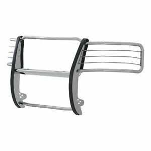 Aries 4081 2 Stainless Grille Brush Guard For 11 14 Chevy Silverado 2500 3500