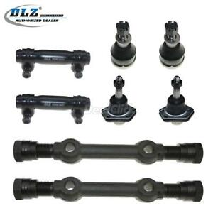 8 Suspension Kit Ball Joint Control Arm Tie Rod For 75 86 Chevrolet C20
