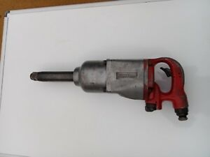 Blue Point By Snap On 1 Drive Long Anvil Pneumatic Air Impact Wrench At1100al