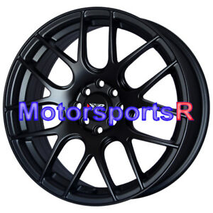 17 Xxr 530 Flat Black Concave Rims Wheels 4x100 93 97 98 01 Acura Integra Gsr Gs