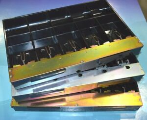 3x Mmf Replacement Cash Register Drawer Till Tray 531 2993 04 Black