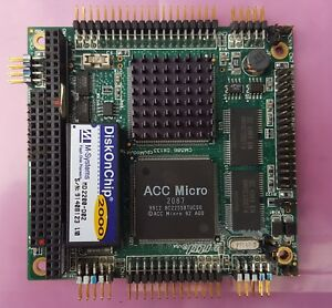Rtd Real Time Devices Pc 104 Cpu Module Cmi586 133mhz 1mb Sdram Ide 2xserial