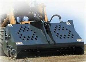 Rock Rake For Skid Steer Loader grooms Soil For Seed american Made By Bradco ffc