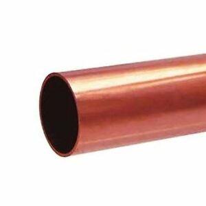 Copper Tube Pipe 2 1 2 Inch Type L 36 Inches Long