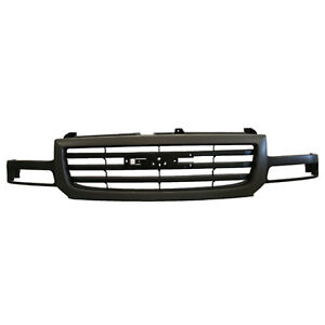 Front Grille Fits 2003 2006 Gmc Sierra 104 01883b