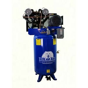 10 Hp V4 Sp 80 Gallon Vertical Air Compressor