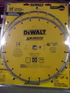 Two Dewalt 14 Diamond Blades Dwa47421