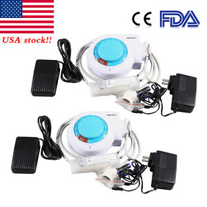 2 fda Dental Ultrasonic Piezo Scaler Unit Fit Ems Woodpecker W Scaling Tips E2
