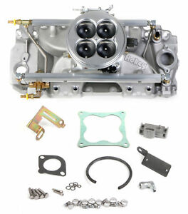 Holley Efi 550 706 Big Block Chevy Multi port Power Pack Kit For Tall Deck R