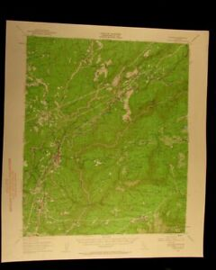 Colfax California 1961 Vintage Usgs Topographical Chart Map