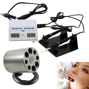 Dental Lab Digital Electric Wax Carving Knife Double Pen Composite Resin Heater