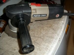RARE PORTER CABLE RANDOM ORBIT SANDER 7334 HEAVY DUTY TYPE 1 3.7A 6000 OPM EUC