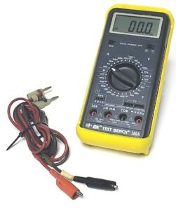 Bk Precision Handheld Test Bench Dmm 388a W Test Lead Multi Meter W Case