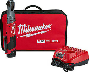 Milwaukee Electric Tool 2557 21 M12 3 8 Ratchet High Torque Kit