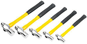 Wilmar M7134 5 Piece Ball Pein Hammer Set