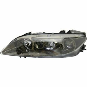 Headlight For 2003 2005 Mazda 6 Left With Fog Lamps Sport Type Composite Type