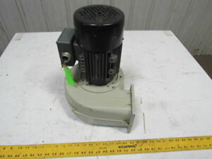 Brook Crompton 1927105 00 1hp 3400rpm 3ph 230 460v Squirrel Cage Draft Blower