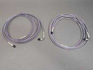 Lot Of 2 Gore 17ft Cable Assembly Sma Male male Microwave Test Cable