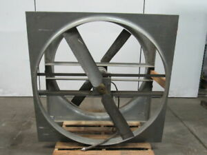 Dayton 6e840 48 Direct Drive Agricultural Exhaust Fan 1hp 440 460v 850rpm