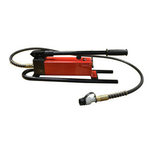 Mh2 Manual 10 000 Psi Air Hydraulic Hand Pump 72 Hose Coupler Included