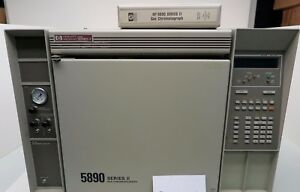 Hewlett Packard Series Ii 5890 Gas Chromatograph Hp 220v 5890a With Manual