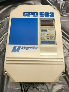 Magnetek Gpd 503 Ds307 Servo Drive Haas Vf1 Low Hours tested With Warranty