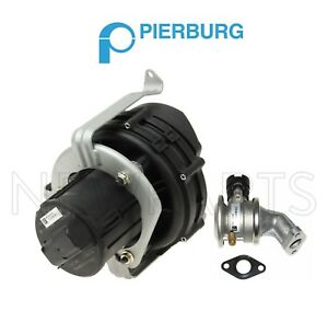 For Set Of Secondary Air Injection Pump And Control Valve For Bmw E39 525i 525i