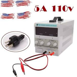 Qw ms305d 30v 5a 110v Dc Power Supply Adjustable Variable Dual Digital Lab Test