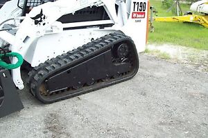 Bobcat T590 t190 16 Replacement Tracks two Dominion Factory Warranty In Stock