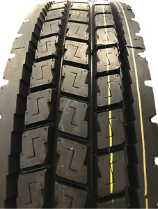 1 Tire Commercial Truck 11r24 5 Sunfull Hf312 Closed Shoulder Drive Tires