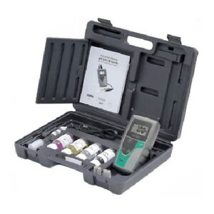 Oakton Wd 35613 54 Ph 5 Handheld Meter Kit With Case Solutions Ph atc Probe