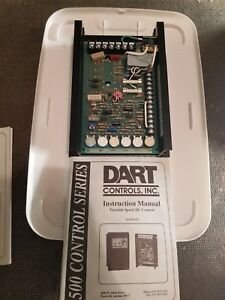 New Dart Controls Inc 510 100rc w1348 Variable Dc Drive 120vac