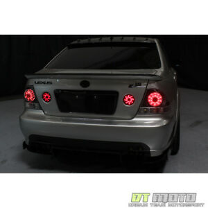 For Smoked 2001 2005 Lexus Is300 Led Tail Lights Brake Lamps Left Right