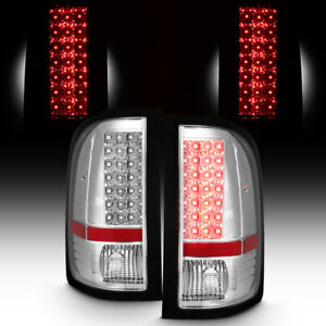 2007 2013 Chevy Silverado 1500 07 14 2500 3500 Led Tail Lights Lamps Left Right