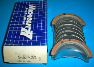 Ms1782p 25mm Main Bearings 1989 95 3 8l 232 Supercharged V6 Ford T Bird Cougar