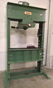 150 Ton Dake 8 854 air hydraulic H frame Shop Press Lmc 45740