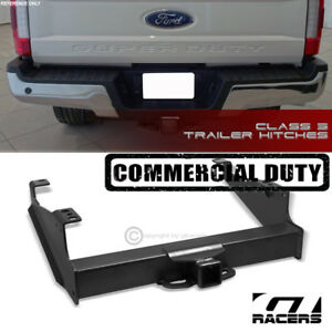 For 1999 2017 Ford F350 Class 5 Matte Trailer Hitch Receiver Tow Commercial 2 5