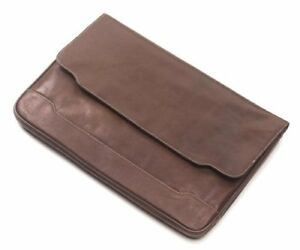 Clava Tuscan Leather Document Folio Tuscan Cafe