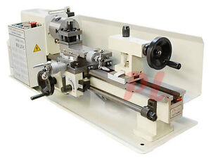 Digital 7 X 12 Precision Mini Variable Metal Lathe 400w 2500rpm Free Shipping