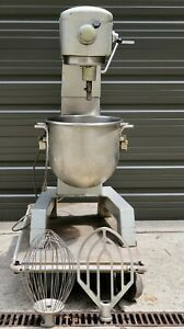 Oem Hobart D300t D 300t Floor 30qt Pizza Dough Bakery Mixer Bowl paddle whip 1ph