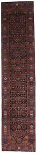 Beautiful Handmade Palace Runner Nahavand Persian Rug Oriental Carpet 3 6x15 5