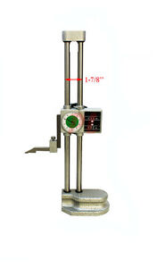 Double Beam 12 Dial Height Gage Carbide 001 Mechanical Digit Counter