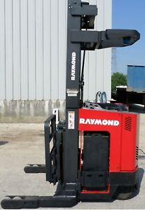 Raymond Model Easi r30tt 2001 3000lbs Capacity Great Reach Electric Forklift