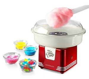 Nostalgia Retro Series Candy Maker Cotton Candy Sugar Snow Cone Machine