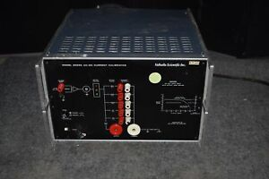 Valhalla Scientific Model 2555a Ac dc Current Calibrator